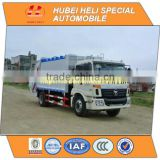 FOTON AUMAN 4x2 12cbm rear loader garbage truck with pressing mechanism 140hp hot sale for export