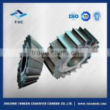 customizable raw material tungsten carbide side & face milling cutter