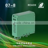 featured plastic din rail mounting PLC enclosure