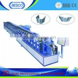 BESCO ball bearing telescopic channel roll forming machine