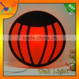 2014 Factory supply new fashion Wallpaper Light DIY 3D Pumpkin Shape Night Light