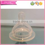 Momy realistic teat wide neck silicone baby water bottle nipples