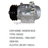 Auto A/C Compressor For NISSAN BUS