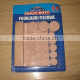 New Self Adhesive Round Felt Pad Floor Furniture Scratch Protector 56 Pcs