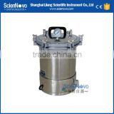 Scienovo YXQ-SG46-280S (wing nuts) Great portable autoclave pressure steam sterilizer for sale