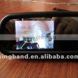 Latest car rear view backup reversing camera ccd for car for cars in 3.0/3.5inch of compass/temperature for your car