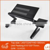 Aluminum Alloy Desk Folding Computer Laptop keyboard stand portable adjustable laptop stand