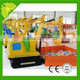Outdoor amusement equipment kids digger, kids playground excavator, new mini kids electric digger