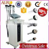 Cavitation Rf Slimming Machine Au-47B Ultrasonic Cavitation And RF Massage Fat Reduction Face Anti Wrinkle And Body Slim Machine