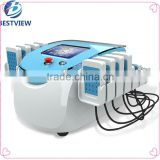 Wholsale 650 nm 980 nm laser body shaping lipo slimming machine / cold laser for slimming
