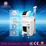 4 in 1 us002h yag laser tattoo remove and SHR ipl skin care ABS shell