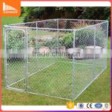 Inquiry about Heavy duty steel hot dip galvanized round tube welded mesh chain link dog kennel