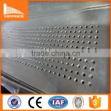 Slotted Perforated Metal Galvanized Steel Square Hole Perforated Sheet, Aluminum Perforated Sheet