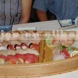 Grade A Natural Sushi Bamboo Sushi Boat Made By China Supplier