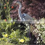 Large Plastic Bird Scarer Garden Pond Ornament Heron Decoys