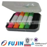 5 in 1 solid medical cute gel pen/Creative pen/Solid fluorescent pen/promotional gifts/highlighter crayon made in china