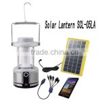 Lighting global Certified LED Solar Lanterns with mobile charging function!