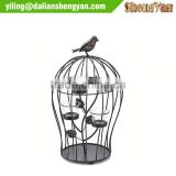Antique metal bird cage candleholder wholesale