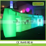 Hot sale modern remote control color changing illuminated LED bar furniture