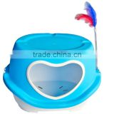 plastic cat house dog cage with the hear shape hole