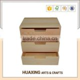 Vintage Hand Carved wooden drawers for filling cabinet with master carton packaging