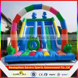 Outdoor splash inflatable water slides for kids/inflatable slide for pool/PVC slide