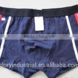 95%cotton5%lycra stripe man boxer shorts