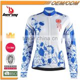 BEROY wholesale and OEM custom sport coats, a competitive price women cycling jackets