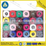 Dyed 100% Cotton embroidery thread / 24*20g /plenty of color
