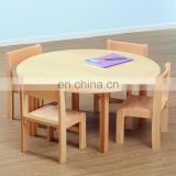 High Quality Daycare Center Kids Wooden table and chairs