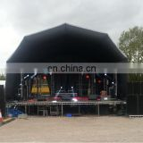 2018 Events and wedding decoration inflatable shelter tent/inflatable stage shell/inflatable cover