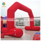 Public advertising display inflatable advertising publicity arch