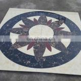 Floor medallion of marble