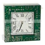 ALL KIND OF MOTHERBOARD SQUARE WALL CLOCK
