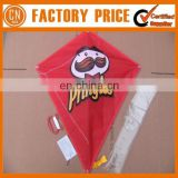 Advertising Logo Polyester Cheap Custom Diamond Kites