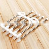 metal multifunction hanger, good quality stainless steel scarf pants hanger