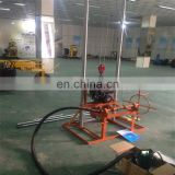 Small geotechnical portable water well drilling equipment