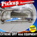 "New Car Accessories 3"" Stainless steel Pickup Accessories 2015 Triton L200 With Fog Light Mounting Tabs"