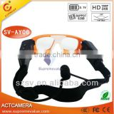 New arrived Full HD glasses camera for skiing