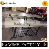 High quality folding buffet table in restaurant