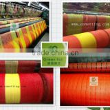 yellow & orange onion barrier fence