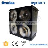 Magic box F4 4*10W RGBW 50W Led wash par light stand-alone Master/slave 50000 hours lifespan