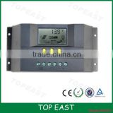 China Popular 12v 24v auto solar charge controller 30A 40A solar light controller With usb