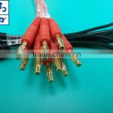 Banana Plug UL 1015 16 AWG with banana gold plug DC tester cable with Banana PLUG Power Cable
