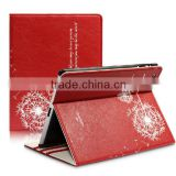 FLOWER LEATHER FLIP STAND CASE COVER POUCH FOR TABLET MODELS DANDELINON PROTECTIVE COVER FOR IPAD 5