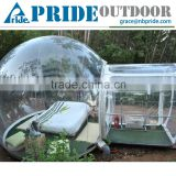 Camping Clear Inflatable Lawn Tent Round Transparent Outdoor Inflatable Tent