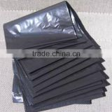 wholesale Chinese Factory Customized Black PE Plastic Garbage Bag Flat Bag                                                                         Quality Choice