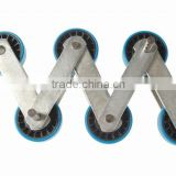 Escalator Step Chain, Pitch Line 131.33, Diameter of Roller 76.2mm, Link WidthX Thickness 30x5/35x5, Diameter of Pin 14.63mm