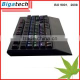 2015 highest demand products wired usb mechanical keyboard, multimedia computer keyboard