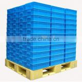 4000kg load euro standard blue plastic pallet cheap price high quality